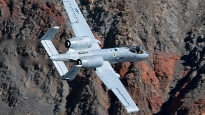 Photo ID 247288 by Niels Roman / VORTEX-images. USA Air Force Fairchild A 10C Thunderbolt II, 79 0202