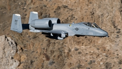 Photo ID 247047 by Niels Roman / VORTEX-images. USA Air Force Fairchild A 10C Thunderbolt II, 79 0202