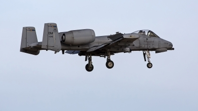 Photo ID 248225 by Niels Roman / VORTEX-images. USA Air Force Fairchild A 10C Thunderbolt II, 82 0646
