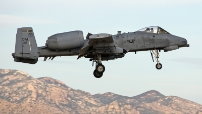 Photo ID 247450 by Niels Roman / VORTEX-images. USA Air Force Fairchild A 10C Thunderbolt II, 79 0168