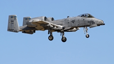 Photo ID 247454 by Niels Roman / VORTEX-images. USA Air Force Fairchild A 10C Thunderbolt II, 81 0945