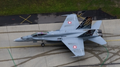 Photo ID 27728 by marcel Stok. Switzerland Air Force McDonnell Douglas F A 18C Hornet, J 5011