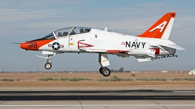 Photo ID 247279 by Niels Roman / VORTEX-images. USA Navy McDonnell Douglas T 45C Goshawk, 165630