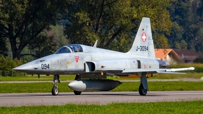 Photo ID 246886 by Bruno Geiger - Aviation Media. Switzerland Air Force Northrop F 5E Tiger II, J 3094