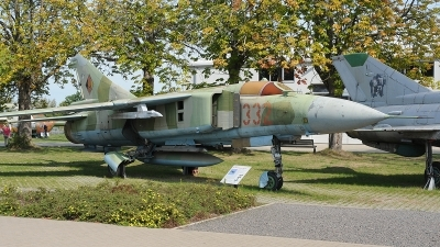 Photo ID 246932 by Florian Morasch. East Germany Air Force Mikoyan Gurevich MiG 23ML, 332