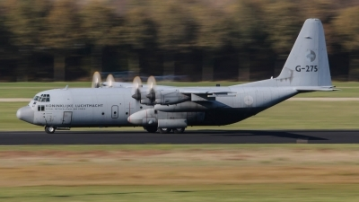 Photo ID 247113 by Rick van Engelen. Netherlands Air Force Lockheed C 130H Hercules L 382, G 275