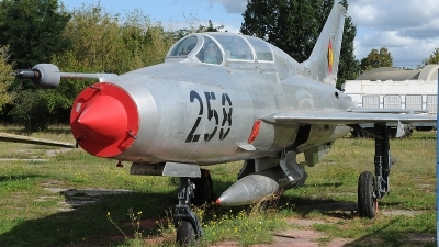 Photo ID 247165 by Florian Morasch. East Germany Air Force Mikoyan Gurevich MiG 21U 400, 23 89