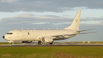 Photo ID 247255 by Tom Gibbons. UK Air Force Boeing P 8A Poseidon 737 800ERX, ZP802