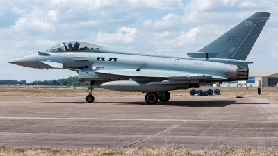Photo ID 247308 by David Novák. UK Air Force Eurofighter Typhoon FGR4, ZK378