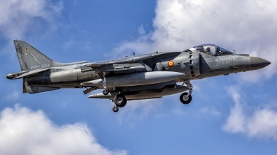 Photo ID 247346 by MANUEL ACOSTA. Spain Navy McDonnell Douglas EAV 8B Harrier II, VA 1B 26