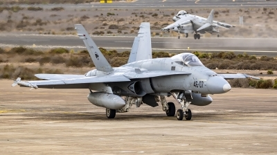 Photo ID 247312 by MANUEL ACOSTA. Spain Air Force McDonnell Douglas F A 18A Hornet, C 15 79