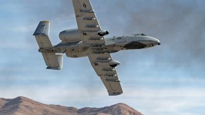 Photo ID 247382 by Niels Roman / VORTEX-images. USA Air Force Fairchild A 10C Thunderbolt II, 79 0169