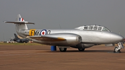 Photo ID 247534 by Peter Fothergill. Private Aviation Heritage Ltd Gloster Meteor T 7, G BWMF