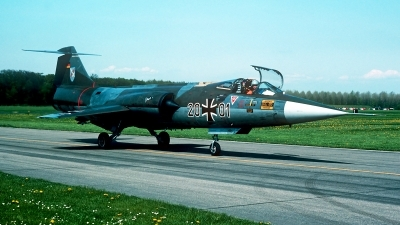 Photo ID 247556 by Carl Brent. Germany Air Force Lockheed F 104G Starfighter, 20 01