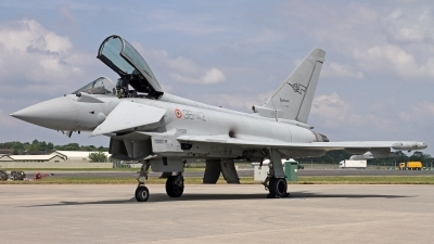 Photo ID 247587 by Peter Fothergill. Italy Air Force Eurofighter F 2000A Typhoon EF 2000S, MM7288