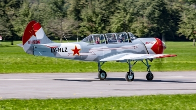Photo ID 247670 by Martin Thoeni - Powerplanes. Private Private Yakovlev Yak 52, LY HLZ