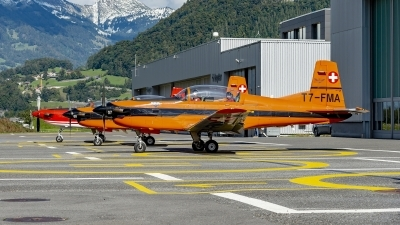 Photo ID 247669 by Martin Thoeni - Powerplanes. Private Fliegermuseum Altenrhein Pilatus PC 7 Turbo Trainer, T7 FMA