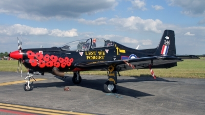 Photo ID 248133 by Peter Fothergill. UK Air Force Short Tucano T1, ZF244