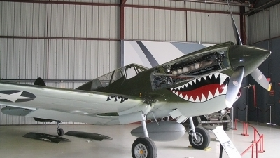 Photo ID 27838 by Tristan van der Vlugt. Private Planes of Fame Air Museum Curtiss P 40N Warhawk, N85104