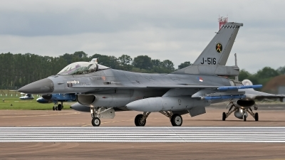 Photo ID 248448 by Niels Roman / VORTEX-images. Netherlands Air Force General Dynamics F 16AM Fighting Falcon, J 516