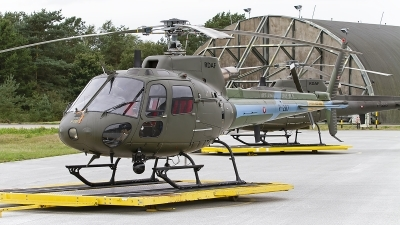 Photo ID 247656 by Niels Roman / VORTEX-images. Denmark Air Force Aerospatiale AS 550C2 Fennec, P 287