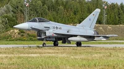 Photo ID 247634 by Niels Roman / VORTEX-images. Germany Air Force Eurofighter EF 2000 Typhoon S, 30 48