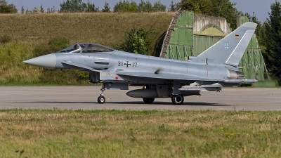 Photo ID 247635 by Niels Roman / VORTEX-images. Germany Air Force Eurofighter EF 2000 Typhoon S, 31 17
