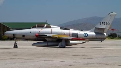 Photo ID 247629 by Niels Roman / VORTEX-images. Greece Air Force Republic RF 84F Thunderflash, 37683