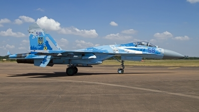 Photo ID 247783 by Niels Roman / VORTEX-images. Ukraine Air Force Sukhoi Su 27P1M,