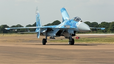 Photo ID 247782 by Niels Roman / VORTEX-images. Ukraine Air Force Sukhoi Su 27P1M,