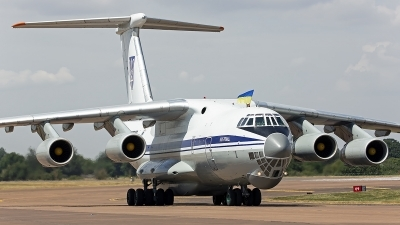 Photo ID 247925 by Niels Roman / VORTEX-images. Ukraine Air Force Ilyushin IL 76MD, 78820