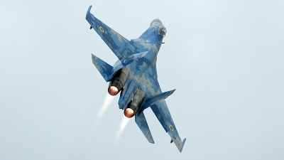 Photo ID 247781 by Niels Roman / VORTEX-images. Ukraine Air Force Sukhoi Su 27P1M,