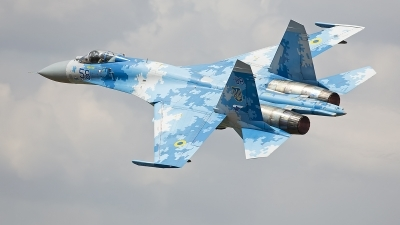 Photo ID 247779 by Niels Roman / VORTEX-images. Ukraine Air Force Sukhoi Su 27P1M,