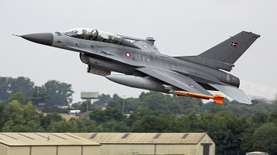 Photo ID 247693 by Niels Roman / VORTEX-images. Denmark Air Force General Dynamics F 16BM Fighting Falcon, ET 198