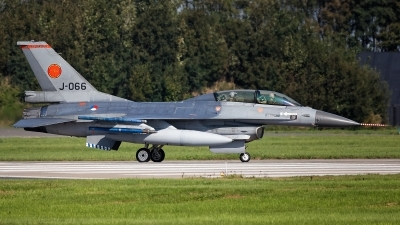 Photo ID 247830 by Rainer Mueller. Netherlands Air Force General Dynamics F 16BM Fighting Falcon, J 066