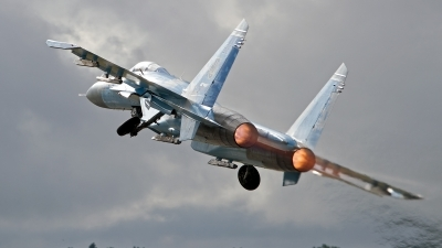 Photo ID 247778 by Niels Roman / VORTEX-images. Ukraine Air Force Sukhoi Su 27P1M,