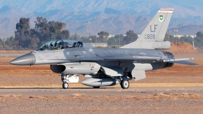 Photo ID 247795 by Misael Ocasio Hernandez. USA Air Force General Dynamics F 16B Fighting Falcon, 93 0828