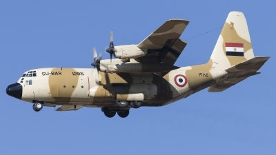 Photo ID 247902 by F. Javier Sánchez Gómez. Egypt Air Force Lockheed C 130H Hercules L 382, 1285