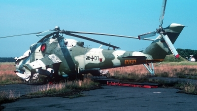 Photo ID 247907 by Carl Brent. Germany Air Force Mil Mi 24D, 96 01