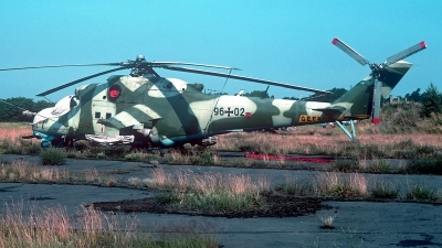 Photo ID 247908 by Carl Brent. Germany Air Force Mil Mi 24D, 96 02