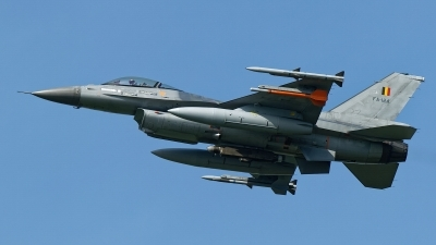 Photo ID 248956 by Rainer Mueller. Belgium Air Force General Dynamics F 16AM Fighting Falcon, FA 124