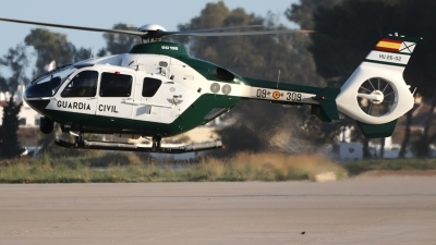 Photo ID 248206 by Manuel Fernandez. Spain Guardia Civil Eurocopter EC 135P2, HU 26 02