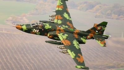 Photo ID 248244 by Anton Balakchiev. Bulgaria Air Force Sukhoi Su 25K, 246