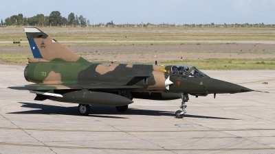 Photo ID 248307 by Chris Lofting. Chile Air Force Dassault Mirage 5MA Elkan, 713