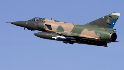 Photo ID 248306 by Chris Lofting. Chile Air Force Dassault Mirage 5MA Elkan, 713
