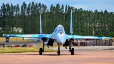 Photo ID 248477 by Frank Deutschland. Ukraine Air Force Sukhoi Su 27UB1M, B 1831M1
