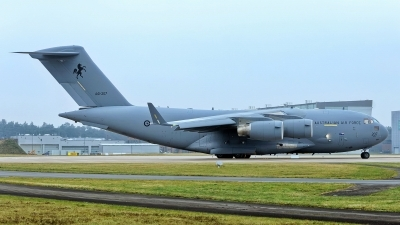 Photo ID 248522 by Rainer Mueller. Australia Air Force Boeing C 17A Globemaster III, A41 207