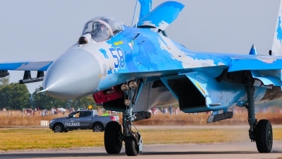 Photo ID 248622 by Frank Deutschland. Ukraine Air Force Sukhoi Su 27P1M,