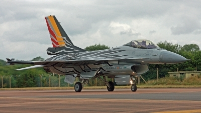 Photo ID 248793 by Peter Fothergill. Belgium Air Force General Dynamics F 16AM Fighting Falcon, FA 123