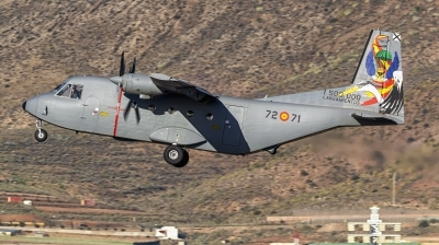 Photo ID 248720 by MANUEL ACOSTA. Spain Air Force CASA C 212 100 Aviocar, T 12B 71